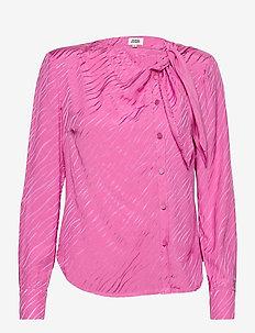 Madison Blouse - long sleeved blouses - vivid pink