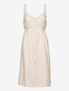 Alianna Dress - sommarklänningar - neutral beige