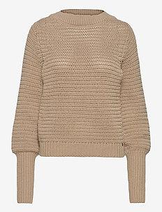 Ruby Sweater - tröjor - sand