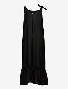 Krista Dress - sommarklänningar - black