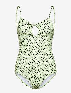Honolulu Swimwear - baddräkter - spirulina mini dot