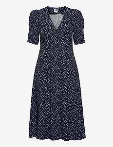 Sania Dress - sommarklänningar - ink mini dot