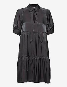 Holly Dress - cocktailklänningar - dk asphalt