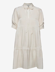 Holly Dress - everyday dresses - whispy white