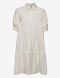 Holly Dress - sommerkleider - whispy white