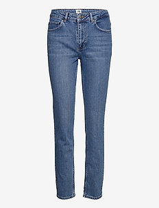Julie Jeans - raka jeans - mid blue wash