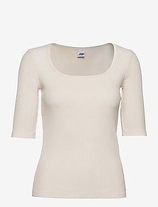 Carrie Top - t-shirts - unbleached