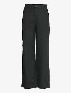 Serena Trousers - wide leg trousers - black