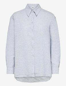 Sara Shirt - långärmade skjortor - ice blue