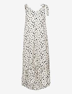 Krista Dot Dress - black dot