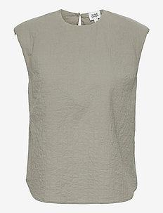 Malia Top - Ärmlösa blusar - dusk khaki