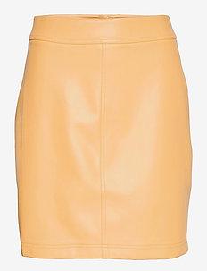 Frances Skirt - midi kjolar - golden hour