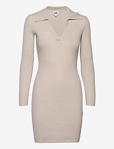 June Dress - bodycon dresses - unbleached