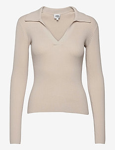 Clara Sweater - jumpers - unbleached