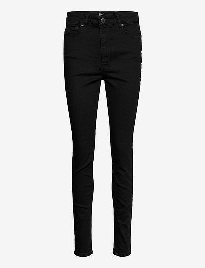 Julie High Waist Jeans Skinny - skinny jeans - black