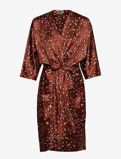 Twist & Tango Georgina Dress Mini- Sukienki Terracotta Leo