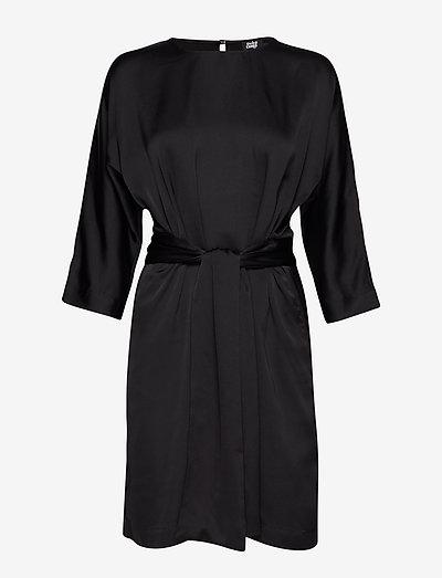 Angelica Dress - stramme kjoler - black
