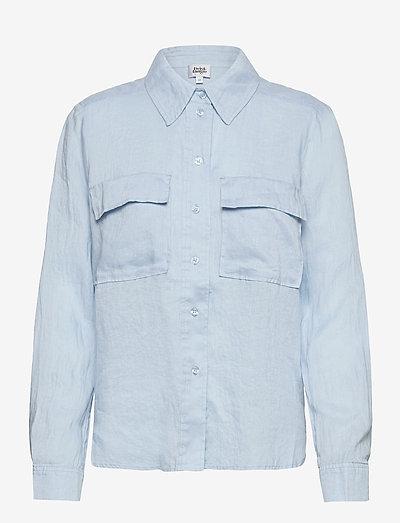Jonna Shirt - langærmede skjorter - light blue