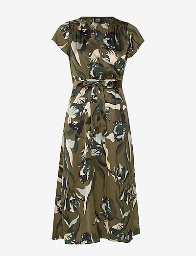 Twist & Tango Boozt Gloria Dress- Sukienki Green Tulip