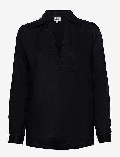 Jaden Shirt - langærmede skjorter - black
