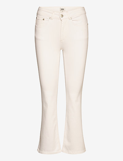 Jo Jeans - flared jeans - white