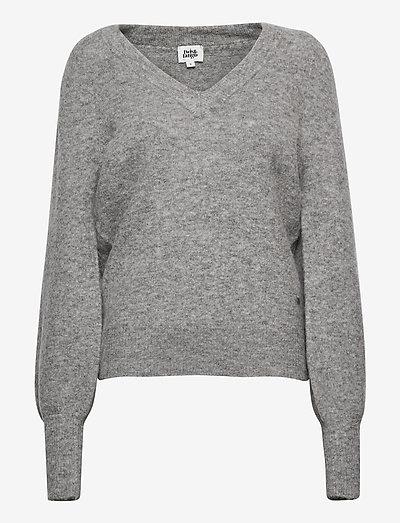 Valeria Sweater - trøjer - grey melange
