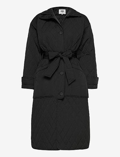 Unni Coat - vinterfrakker - black