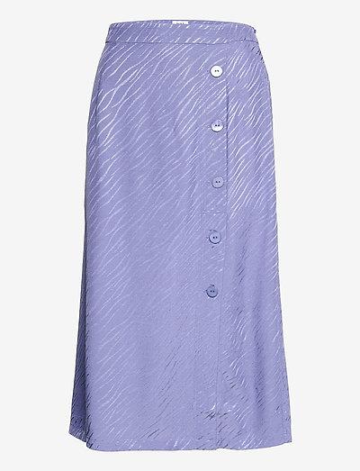 Elina Skirt - maxi nederdele - violet blue