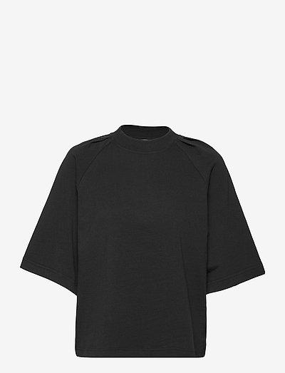 Ivy Tee - t-shirts - black