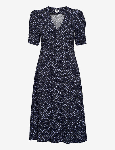Sania Dress - sommerkjoler - ink mini dot