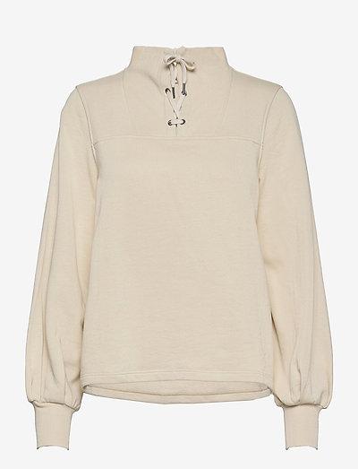 Lilith Sweater - sweatshirts - neutral beige
