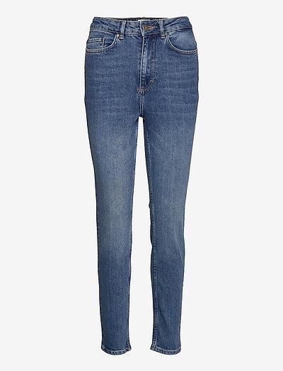 Julie High Waist Jeans - slim jeans - dark blue wash
