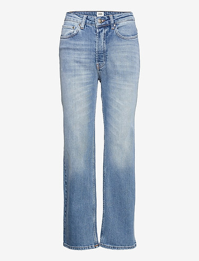 Lollo Jeans - straight regular - mid blue wash