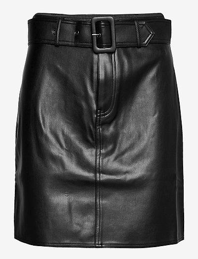 Carolyn Skirt - korte nederdele - black