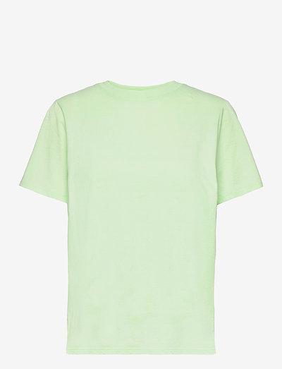 Heidi Tee - t-shirts - lt spirulina