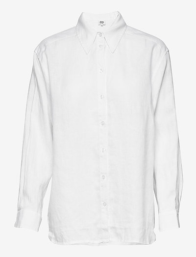 Kelly Shirt - langærmede skjorter - white