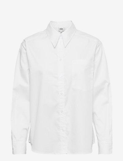 Kim Shirt - denimskjorter - white