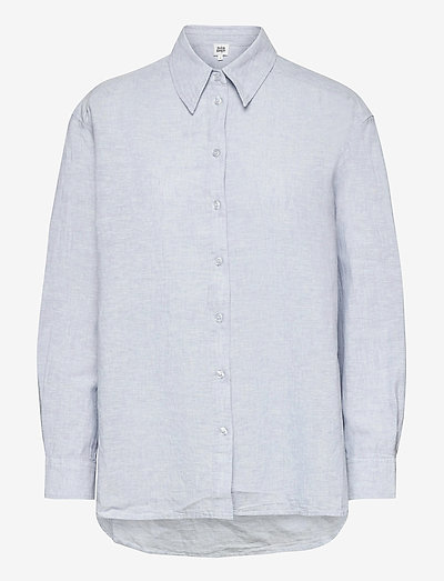 Sara Shirt - langærmede skjorter - ice blue