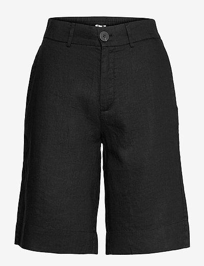 Kate Shorts - bermudashorts - black