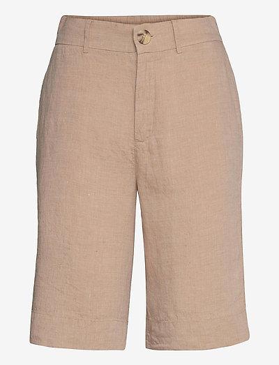 Kate Shorts - bermudashorts - beige melange