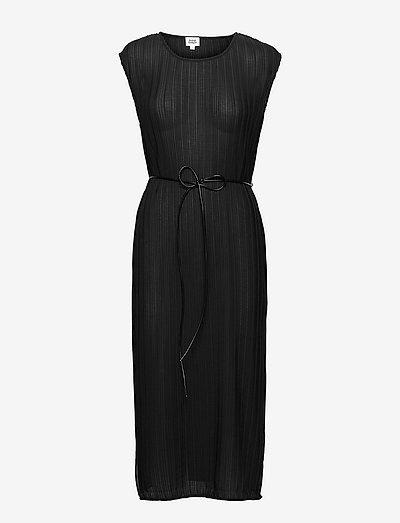 Inez Belt Dress - sommerkjoler - black