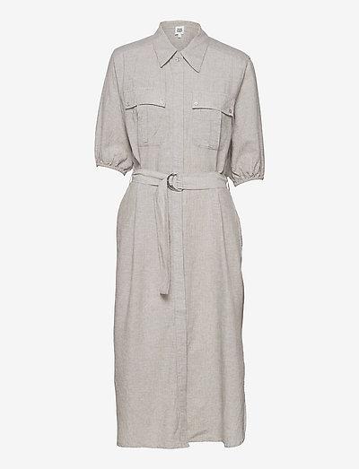 Clarissa Dress - sommerkjoler - grey melange