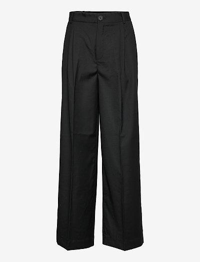 Aliya Trousers - habitbukser - black
