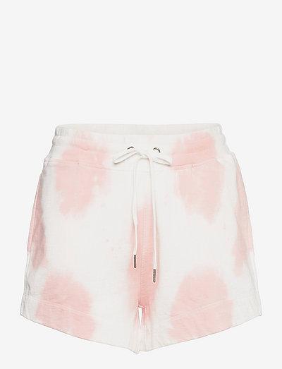 Lani Shorts - casual shorts - lt pink batik