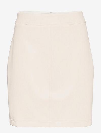 Frances Skirt - korte nederdele - whispy white