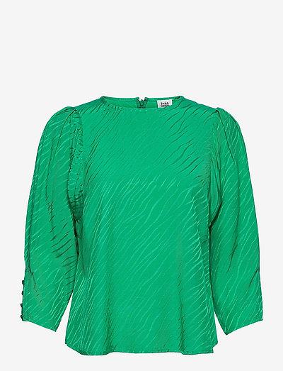 Kaice Blouse - langærmede bluser - vivid green