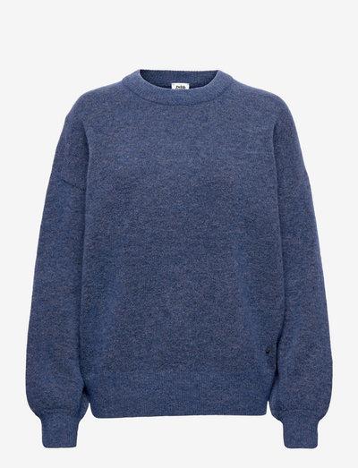 Zina Sweater - trøjer - dk aster blue