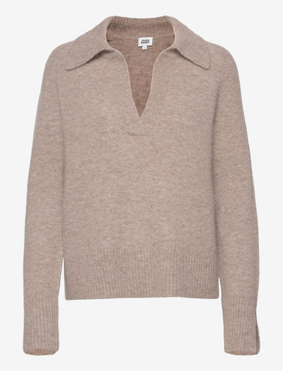 Zoya Sweater - trøjer - lt taupe