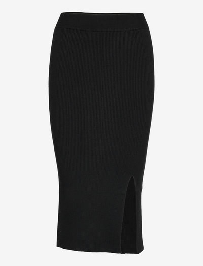 Kye Skirt - midi skirts - black