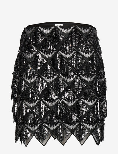 Amara Skirt - korte nederdele - silver